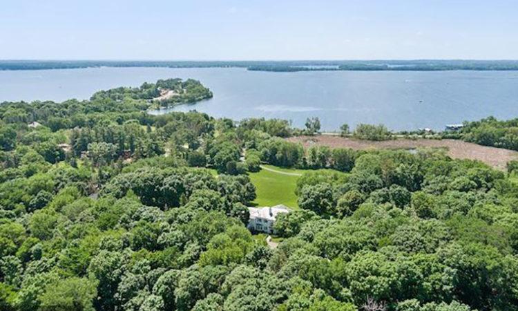 Irwin Jacobs' Lake Minnetonka Mansion for Sale