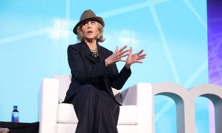 Jane Fonda Talks Arrest and Aging at Global Health Summit