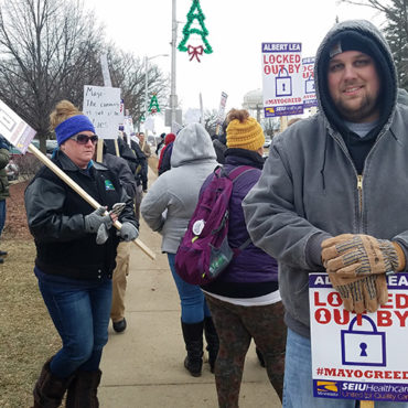 Dispute Between Mayo Clinic, SEIU Concerns Crucial Clause on Benefits Package