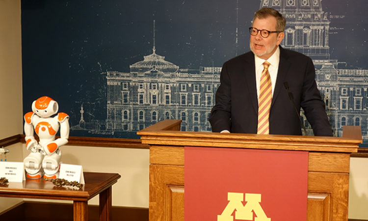 U of M President Kaler Asks for Over $300M More in Funding, Offers Advice in Last Pitch to Legislature