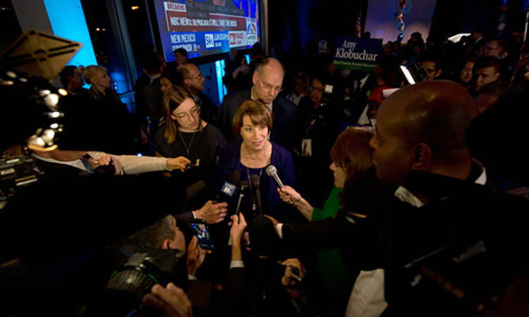 Amy Klobuchar is the Only One Not Talking About Amy Klobuchar Running for President in 2020