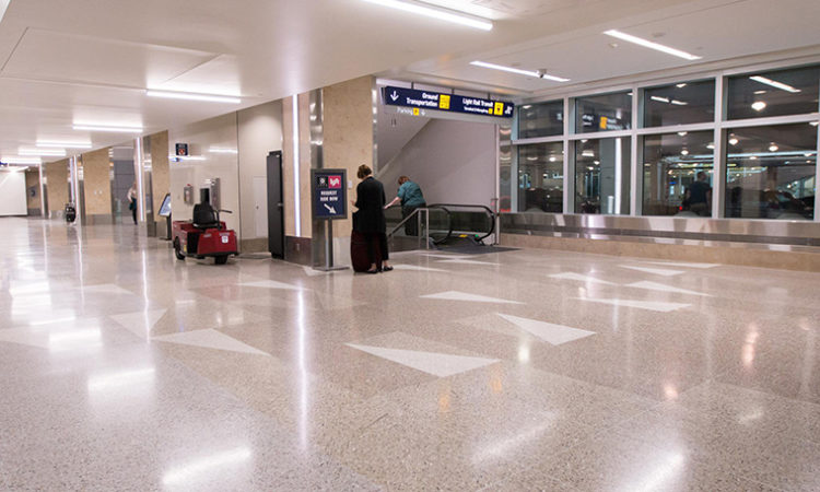 MSP Airport Renovations Prompt Checkpoint Changes
