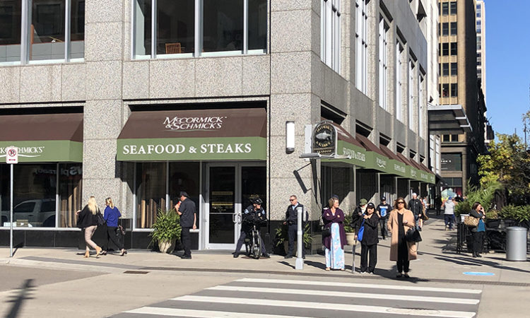 McCormick & Schmick's Space on Nicollet Mall Listed for Lease