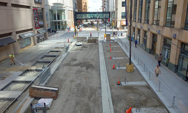 It's Actually Happening: The New Nicollet Mall is on Track to be Finished by November