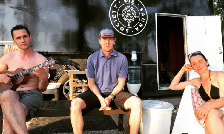 Actor Owen Wilson Visits Minneapolis, Becomes Enamored By City's Sauna Hot Spots