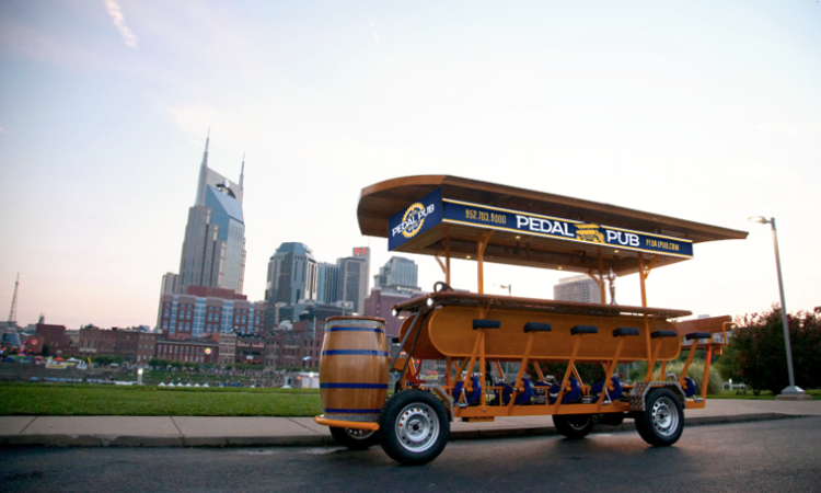 Pedal Pub Wants New Franchisees to Open Party Bike Operations Around U.S., Canada