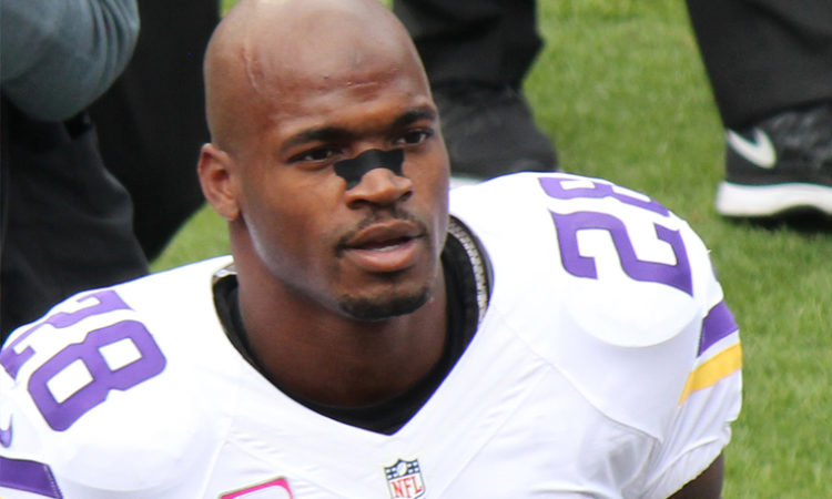 Crown Bank Awarded More Than $600K in Suit Against Former Viking Adrian Peterson