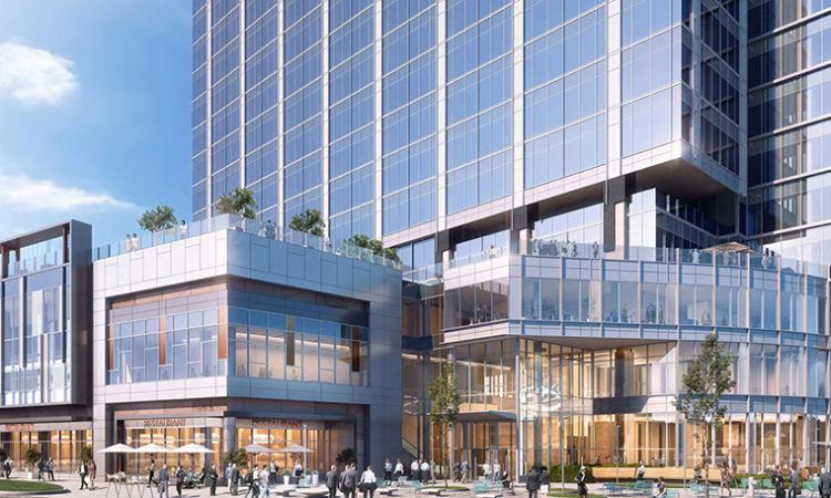 RBC Gateway Breaks Ground; Tower's Office Space Nearly 85 Percent Leased