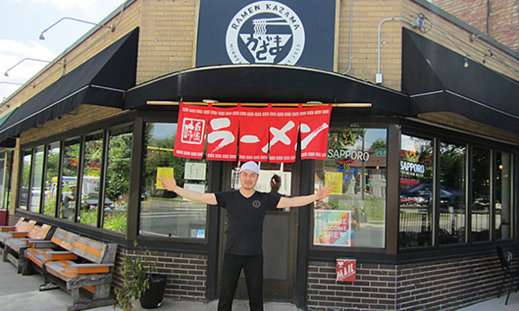 How Raman Kazama's Owner Balances Two Careers: in Food and Music