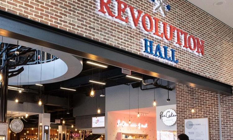 Rosedale Center Shutters Revolution Hall