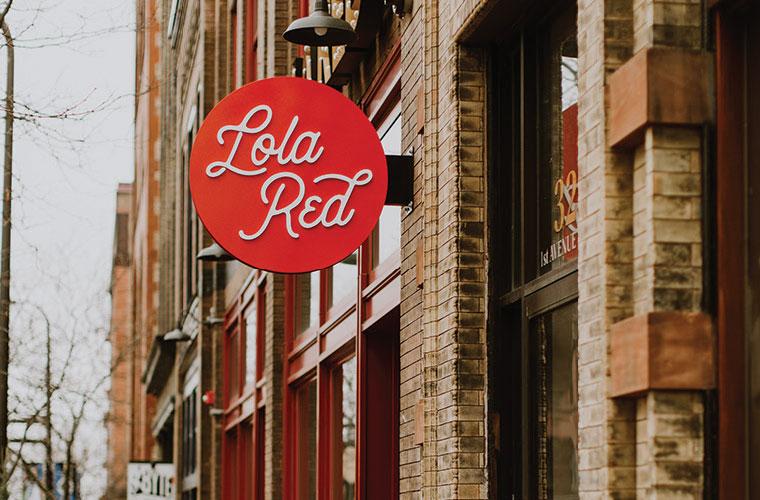 Office Envy: Lola Red PR