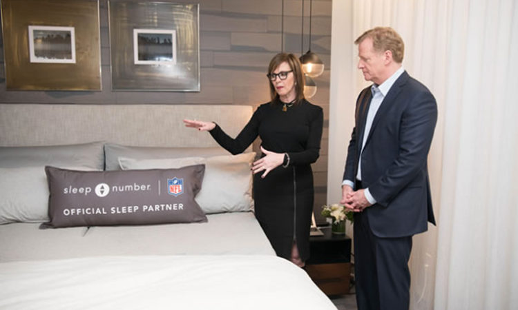 Sleep Number Locks Down NFL Partnership, Will Give Free Smart Beds to Football Players