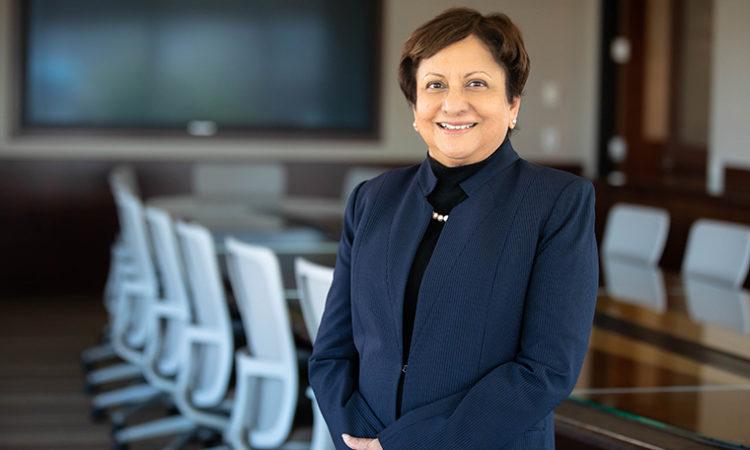 Carlson School Dean Sri Zaheer Named Chair of Minneapolis Fed