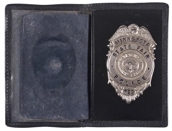 Minnesota State Fair Police badge