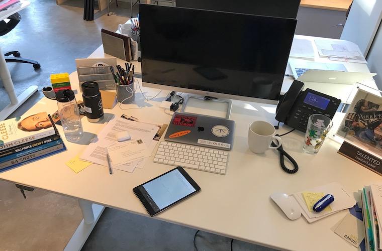 What's on My Desk: Nate Garvis, Co-Founder of Studio/E