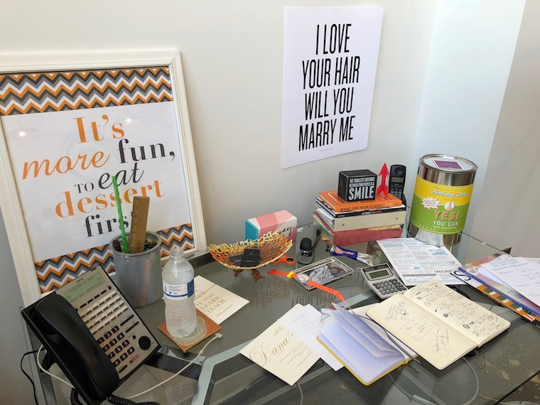 What's On My Desk: Amy Zaroff, Founder/Creative Director of Amy Zaroff Events + Design