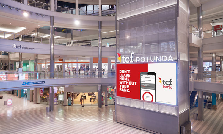 TCF Secures Naming Rights for Mall of America Rotunda