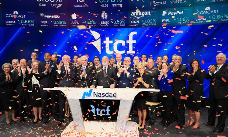 TCF Rings Opening Bell at Nasdaq