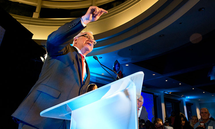 Walz Wins Governorship, DFL Takes MN House in 2018 Midterm Elections