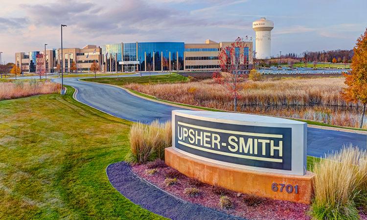 Upsizing Upsher-Smith Labs