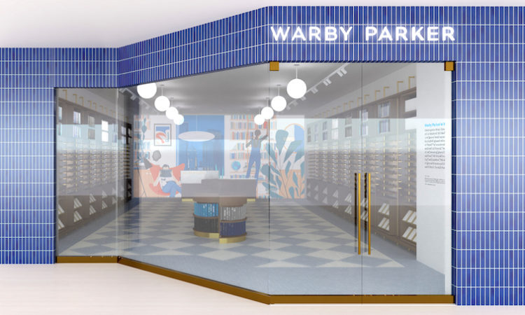 Warby Parker's Galleria Opening in Sight