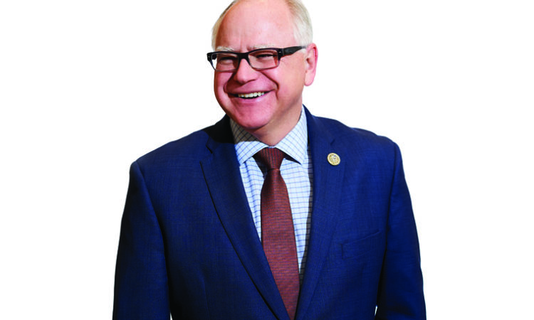 Gov. Tim Walz to Move Quickly on Health Care, Workforce Shortage and Gas Tax Priorities