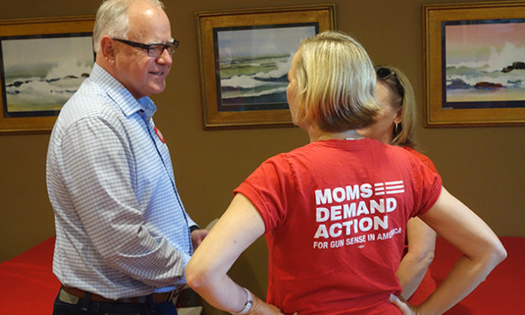 Not Sticking to His Guns: In Race for Governor, Walz Embraces Role as Gun-Control Candidate