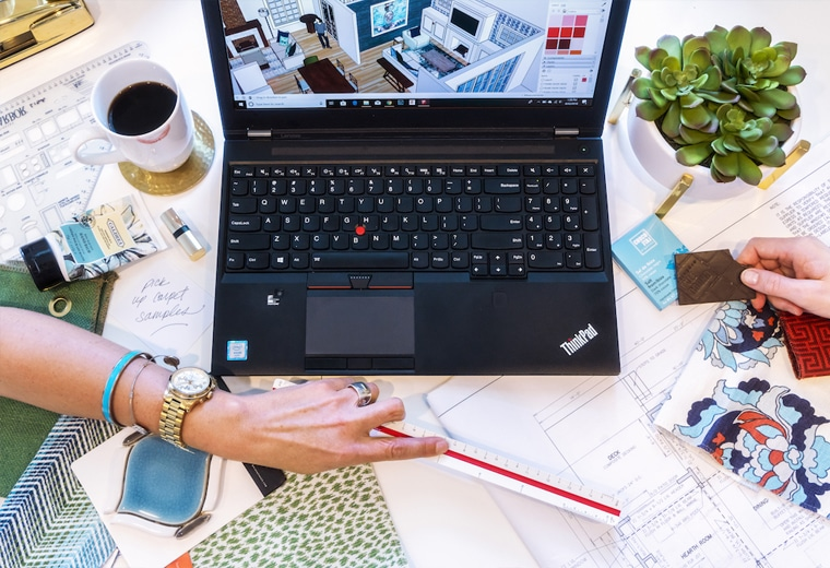 What's On My Desk: Andréa Dixon, Principal of Fiddlehead Design Group