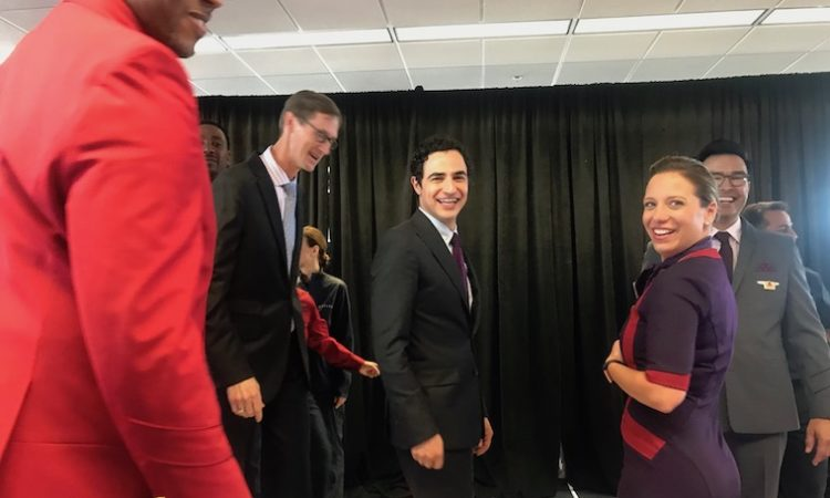 Delta Air Lines Goes Purple in New Uniforms