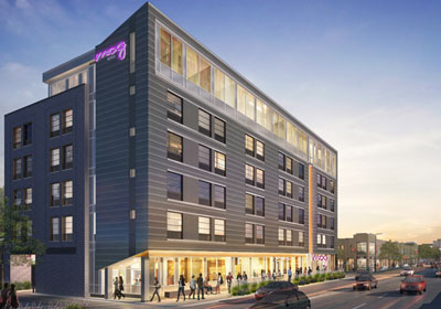 Graves Breaks Ground On Uptown Hotel Project