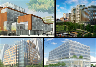 Several New Office Buildings To Join Mpls. Skyline