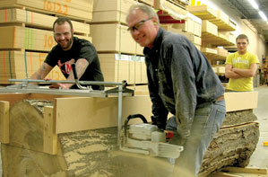 Building Material as Local as Your Own Backyard