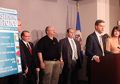 What The Parties' First Bills Tell Us About 2015 Legislative Session