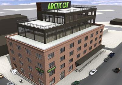 Arctic Cat Relocating HQ To North Loop