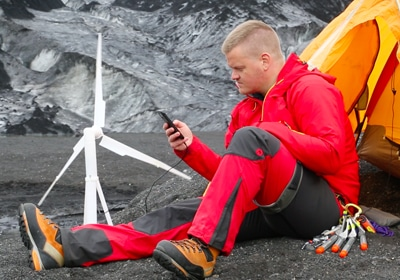Local Kickstarter Launches For World's First Portable Wind Turbine