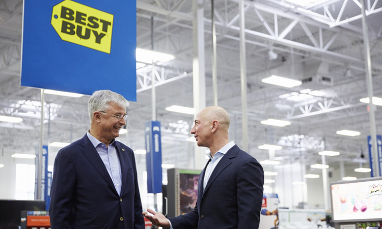 An Unexpected Alliance: Best Buy and Amazon Team Up to Sell Smart TVs