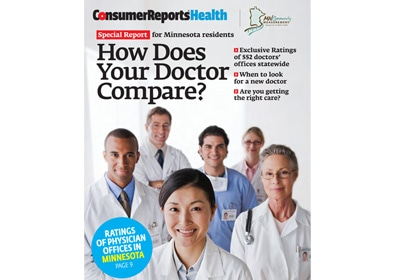 Consumer Reports Rates MN Doctors' Practices' Quality, Affordability