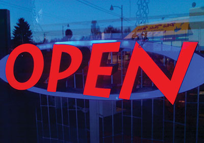 """Why The """"Open"""" Sign Is Ubiquitous"""