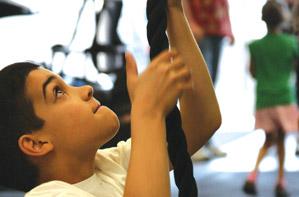 A Workout That's Kid Stuff