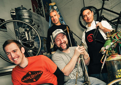 The Twin Cities High-Gear Bicycle Culture
