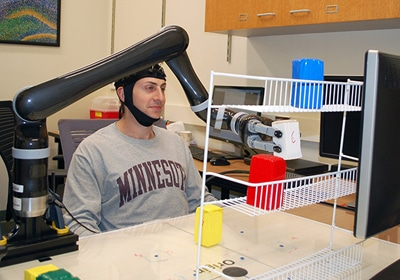 New U Of M Study Shows People Can Control A Robotic Arm With Their Mind