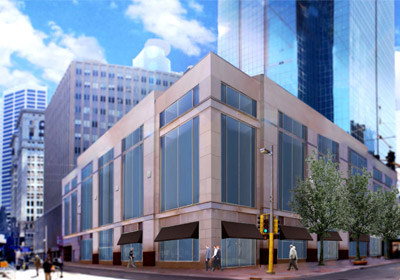 Before CenterPoint Arrives, Neiman Space Gets Facelift