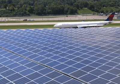 MSP Airport Installs State's Largest Solar Array