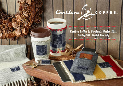 Caribou Coffee Partners With Faribault Woolen Mills