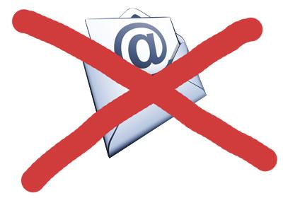 You've Got (No) Mail