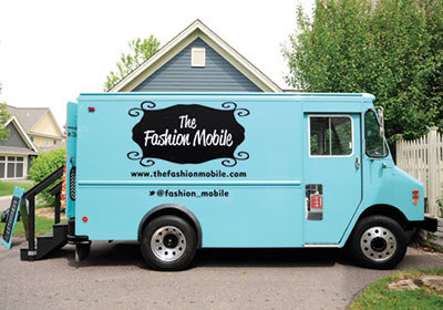 Trucks In St. Paul Sell Fashion, Not Just Lunch