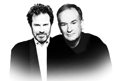 Top Tickets: Bill O'Reilly And Dennis Miller