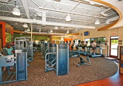 Anytime Fitness Interior