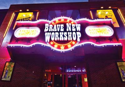 At Brave New Workshop, Can Funny Make Money?