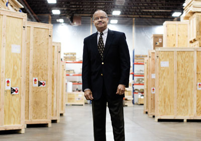Meet Prince Wallace, The Company Collector